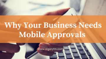 Oracle Mobile App Approvals approval process