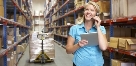 Mobile solutions improving Supply chain efficiencies