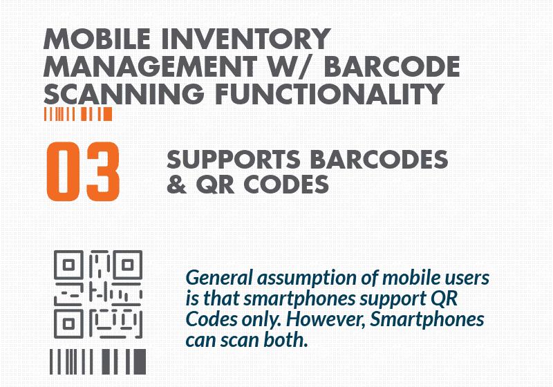 QR Code inventory app Barcode Scanner app