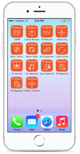 oracle ebs mobile apps